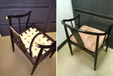 Chair Repairsprings, webbing, rips, cuts, holes, burns, stains, ink marks, water and heat rings, spills