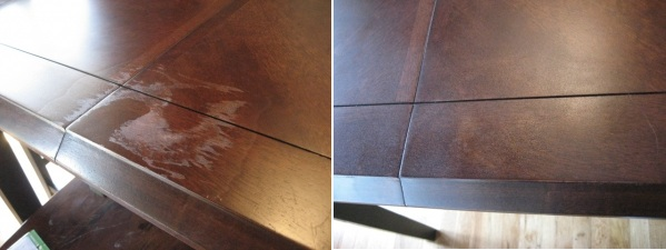 commericalfurntiurereapirTable Repairpet damages, smoke and water damages, enhancements, worn finishes, laminate, grain